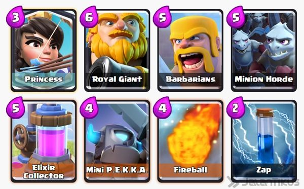 Battle Deck Mini Pekka Clash Royale 18