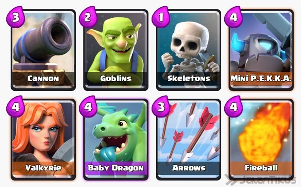 Battle Deck Mini Pekka Clash Royale 21