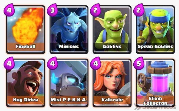 Battle Deck Mini Pekka Clash Royale 27