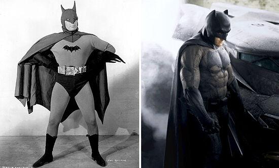 Superhero Dulu Vs Sekarang Batman