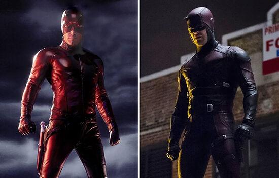 Superhero Dulu Vs Sekarang Daredevil
