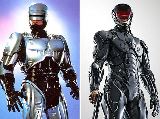 Superhero Dulu Vs Sekarang Robocop