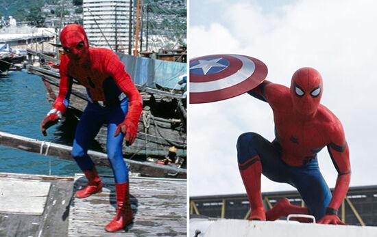 Superhero Dulu Vs Sekarang Spider Man