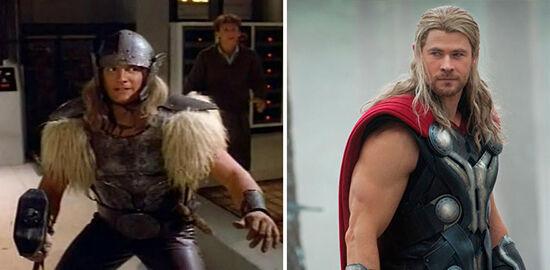 Superhero Dulu Vs Sekarang Thor