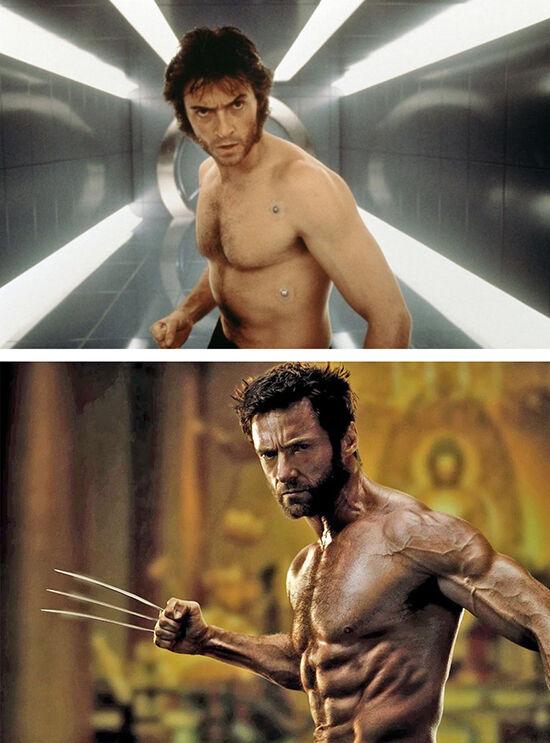 Superhero Dulu Vs Sekarang Wolverine