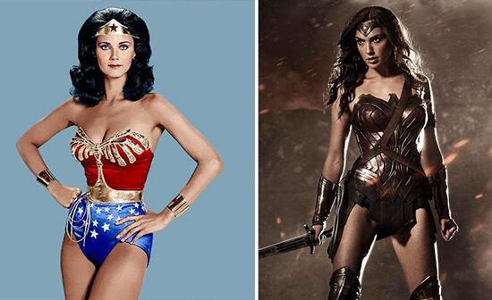 Superhero Dulu Vs Sekarang Wonder Woman