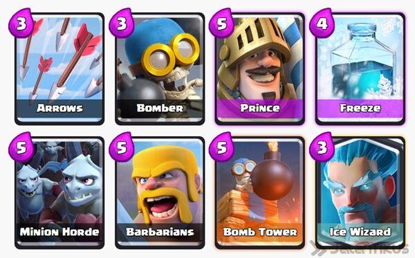 Battle Deck Ice Wizard Clash Royale 15