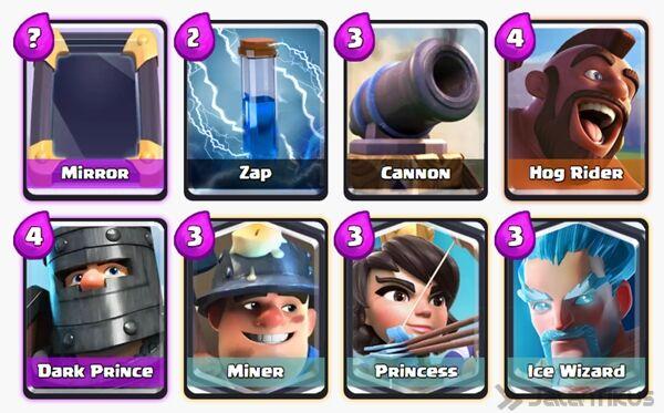 Battle Deck Princess Clash Royale 11