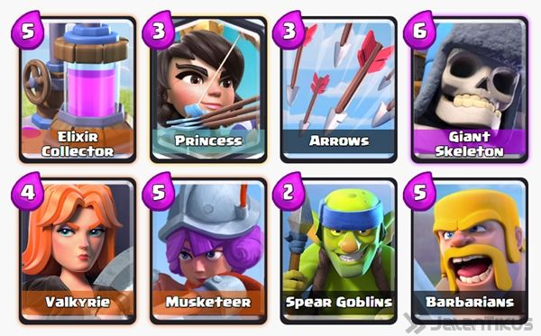 clash royale how to get princess