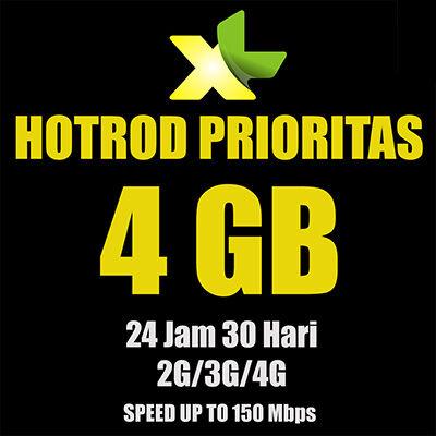daftar paket internet 4g lte termurah XL 3