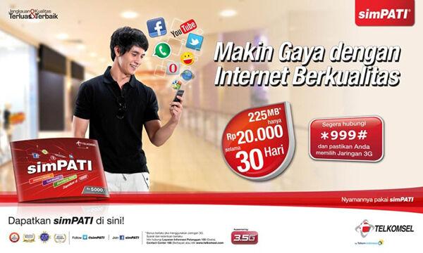 daftar paket internet 4g termurah telkomsel 5