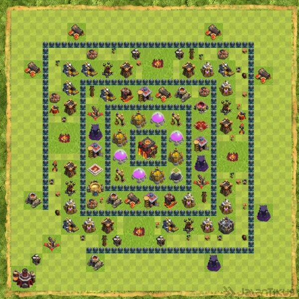 Base Defense Coc Th 10 Terbaru 19