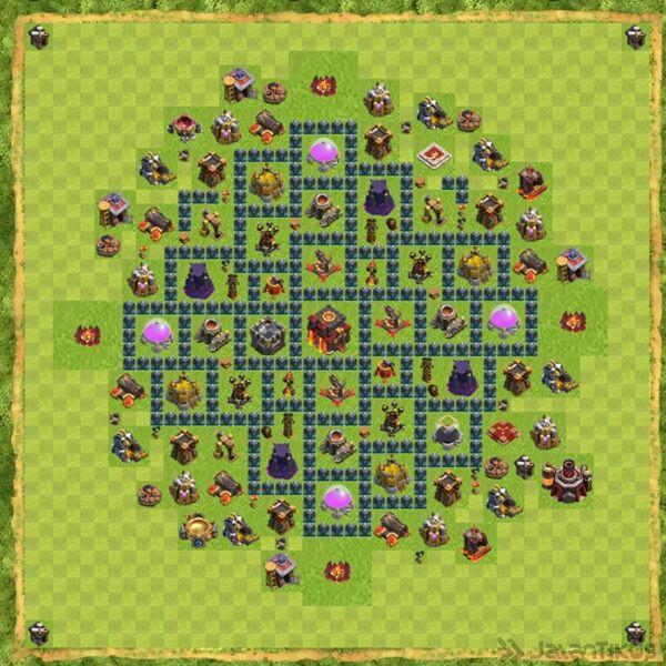 Base Defense Coc Th 10 Terbaru 20