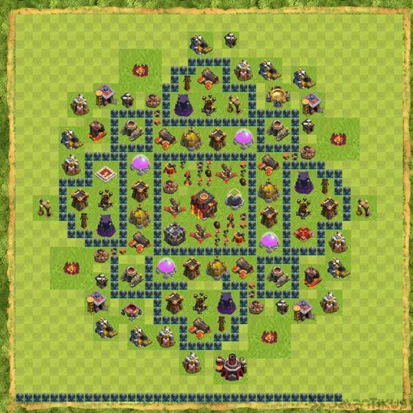 Base Defense Coc Th 10 Terbaru 7