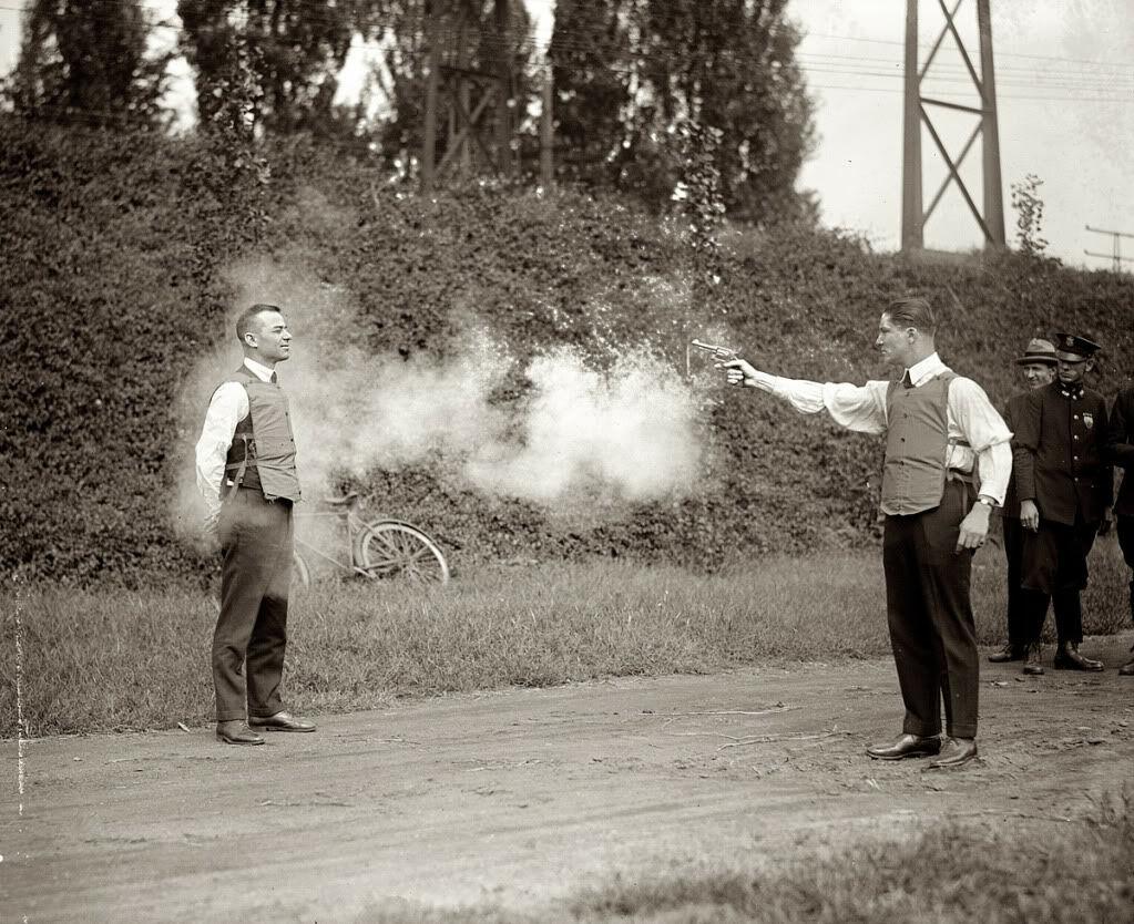 Cara mengetes rompi anti peluru