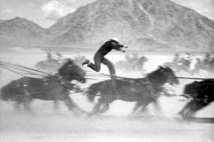 Stuntman paling greget di zaman film bisu