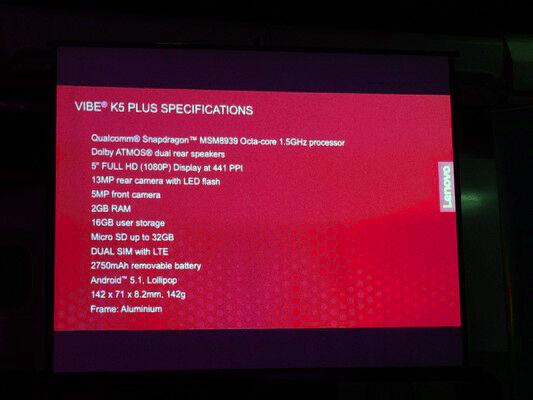 Lenoov Vibe K5 Plus Smartfren 13