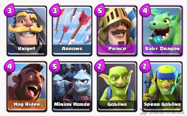 Battle Deck Prince Clash Royale 11
