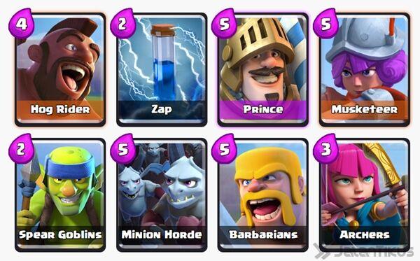 Battle Deck Prince Clash Royale 22