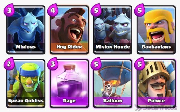 Battle Deck Prince Clash Royale 23