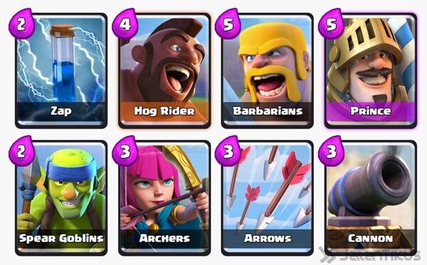 Battle Deck Archers Clash Royale 22