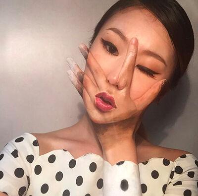 Ilusi Optik Di Wajah 1