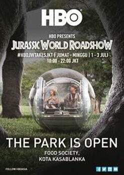 Jurassic World Di Kota Kasablanka Hari Idul Fitri 1