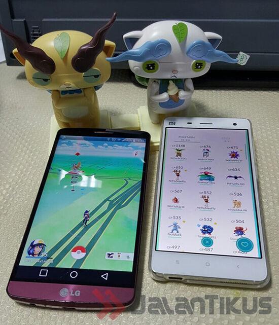 smartphone cadangan 5 Tips Agar Baterai Anda Hemat Saat Main Pokemon Go