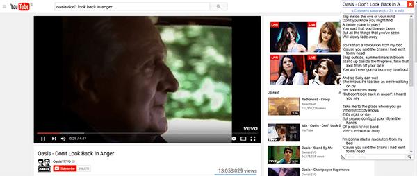 Cara Menampilkan Lirik Di Youtube 5