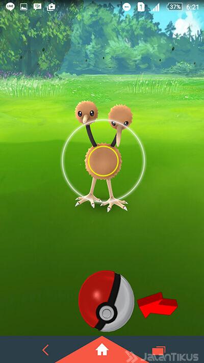 Lempar Pokeball 2