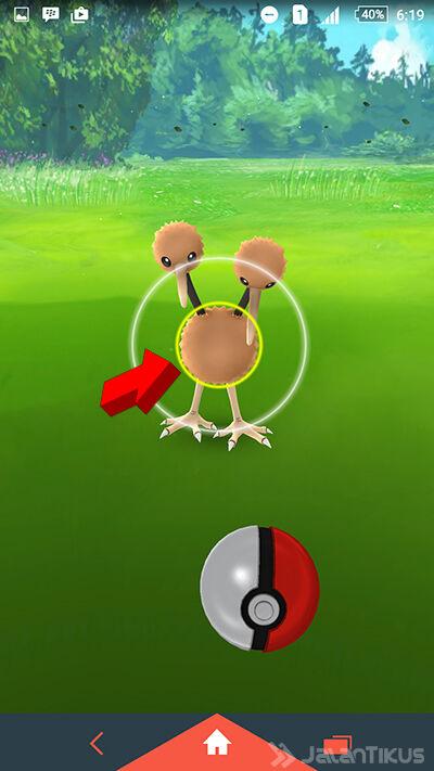 Lempar Pokeball 8