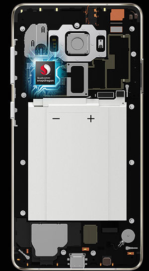 smartphone pertama dengan chipset snapdragon 821