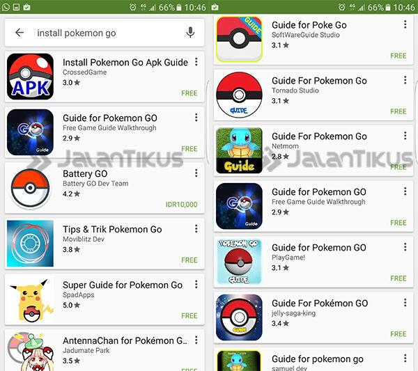Aplikasi Palsu Pokemon Go 3