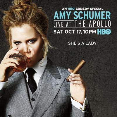 Amy Schumer Live At The Apollo Poster