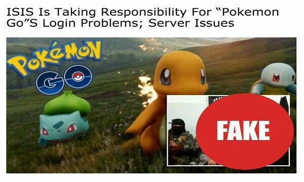 ISIS bobol login Pokemon Go