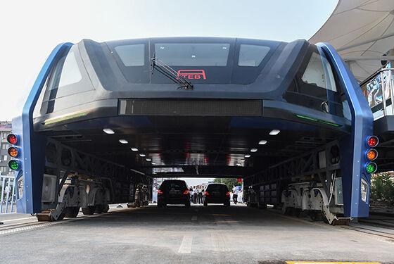 Bus Masa Depan Berukuran Raksasa Dari China