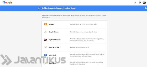 Kunjung Halaman Keamanan Google
