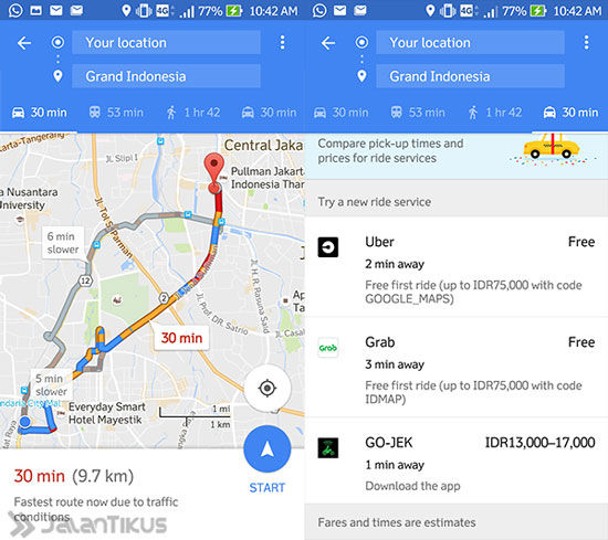 Google Maps Untuk Indonesia 5