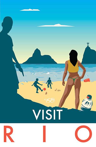 Poster Travel Menyindir 10