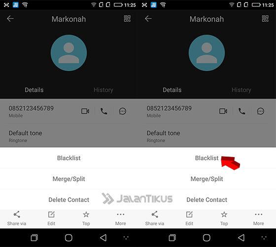 Cara Blokir Nomor Telepon Di Smartphone Coolpad 5