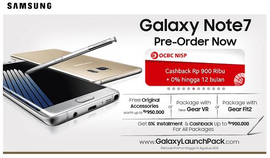 Samsung Galaxy Note 7 Menunda Produksi di Beberapa Negara