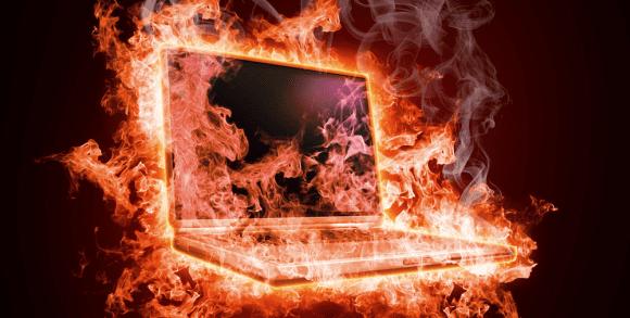 Laptop Panas