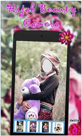 Aplikasi Model Hijab 2016 Hijab Beauty Camera Dahlia 1