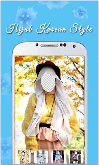 Aplikasi Model Hijab 2016 Hijab Korean Style