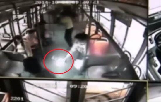 Kejadian Ponsel Meledak Di Dalam Bus Di China