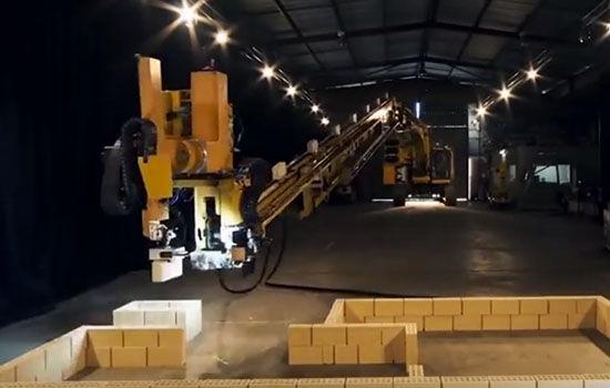 Robot Builder Bangun Rumah Sederhana Hadrian X