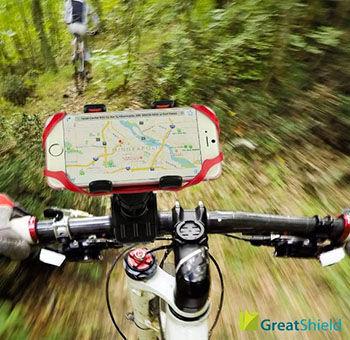 Bike Mount Holder Smartphone Terbaik Greatshield