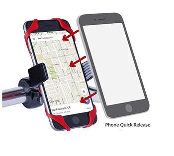 Bike Mount Holder Smartphone Terbaik Vibrelli