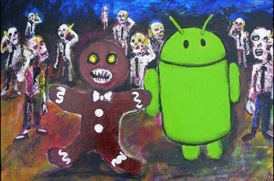 Easter Egg Android Gingerbread Zombie