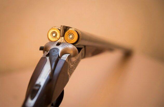 the gun trick